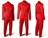 Speed Kartoverall Barcelona RS-1 - Level 2 CIK FIA Approved Racing Suit - Rennoverall Rot (L)