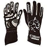 Speed Racewear - Motorsport Handschuhe - Karthandschuhe Melbourne G-2 - Schwarz/weiß (9)