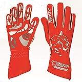 Speed Racewear - Motorsport Handschuhe - Karthandschuhe Melbourne - Rot/weiß (10)