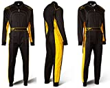 Speed Kartoverall Schwarz/Gelb - Denver HS-2 Modell 2018 Racewear (S)