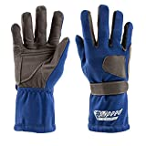 Speed Racewear Karthandschuhe Sydney - Motorsport Handschuhe (9, Blau)