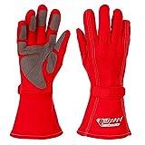 Speed Kartsport Handschuhe Auckland - Motorsport Handschuhe (rot, 4)